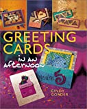img - for Greeting Cards in an afternoon book / textbook / text book