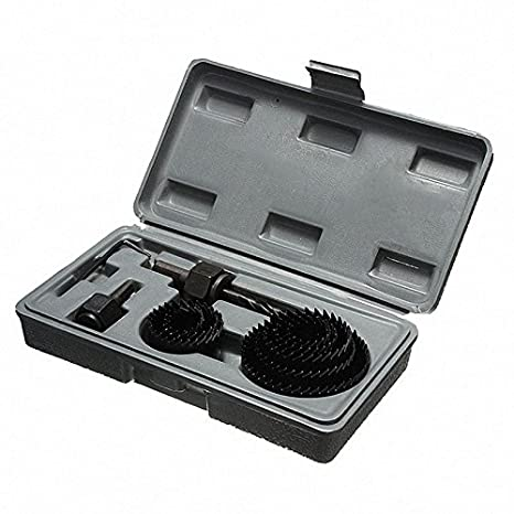 11x 19-64mm Hole Saw Cutter Set Kit Round Wood Sheet Metal Alloys Cutting Tool