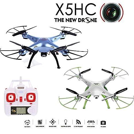 Tomlov 2016 Nuevo Modelo Syma X5HC Dron con cámara de 2MP HD 2.4G ...