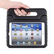 Apple iPad mini 4 Kids Case,Ocuya Kiddie Series Shockproof Case Light Weight Case With Handle for Apple iPad mini 4 (iPad mini 4, black)