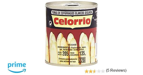 Celorrio Yemas de Espárragos Blancos Segunda - 135 g: Amazon.es ...
