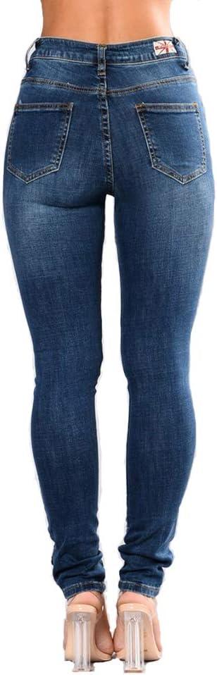 Vaqueros Cintura Alta Tallas S 3xl Wyhweilong Pantalones Vaqueros Para Mujer Ropa Celp Es