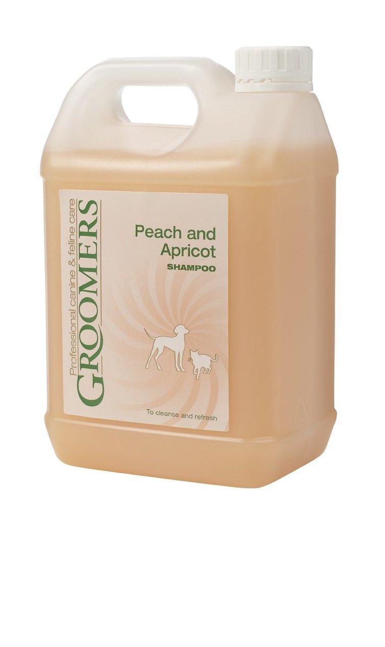 Groomers Peach y Albaricoque Perro champú, 2,5L PFPASO/2.5