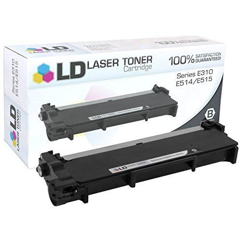 LD © Compatible Dell 593-BBKC (CVXGF) Black Toner Cartridge for E310dw, E514dw, E515dn and E515dw (1,200 Page Yield)