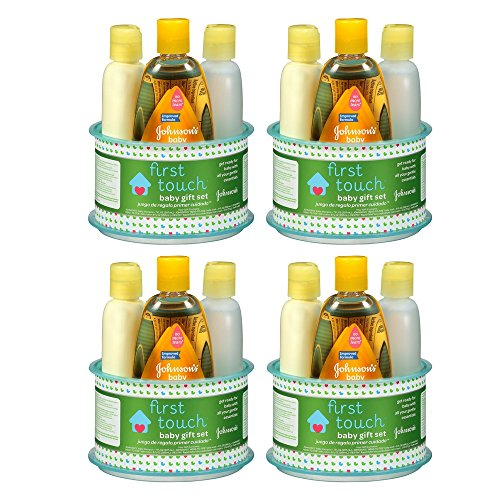 Johnson's First Touch Gift Set, 4 Items (4 Set)