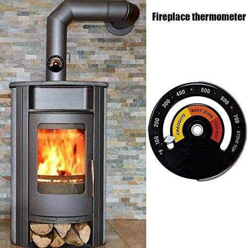 Termómetro para horno, horno de leña, tubo termómetro, casa, tubo ...