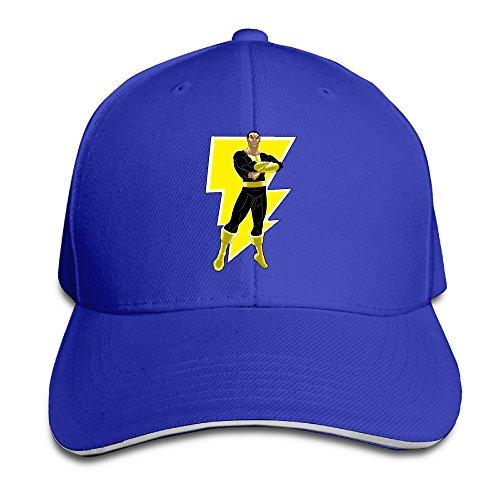 Black Adam Justice Society Baseball Hat Sandwich Peaked Hat