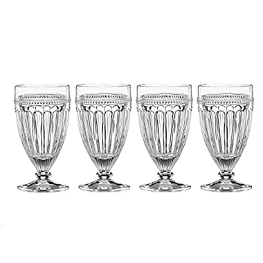Lenox French Perle All Purpose Beverage (Set of 4), Clear