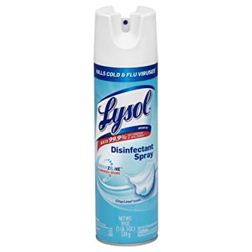 Lysol Disinfectant Spray, Crisp Linen, 19oz