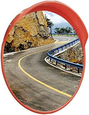 カーブミラー アウトドア私道ガレージのための凸面鏡曲面ミラーPC日焼け止め耐久性に優れた飛散防止 RGJ4-20 (Size : 450mm)