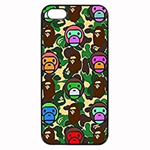 Bape Pattern Custom Image For SamSung Note 4 Phone Case Cover Diy pragmatic Hard For SamSung Note 4 Phone Case Cover High Quality Plastic Case By Argelis-sky, Black Case New