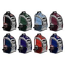 No Errors Scout Elite Player Oversized Baseball Backpack (Sunglass Pocket, Padded Bat, Phone/iPod Pocket, etc)