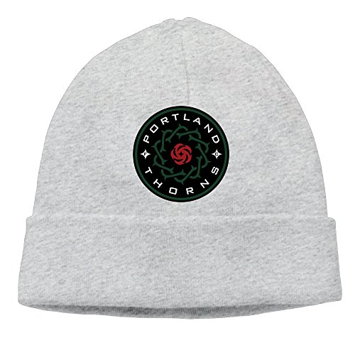 SBJML Adult Portland Thorns FC Beanie Skully Cap Hat Watch Hat Ski Cap Hat Ash (Halloween Stores In Nh)