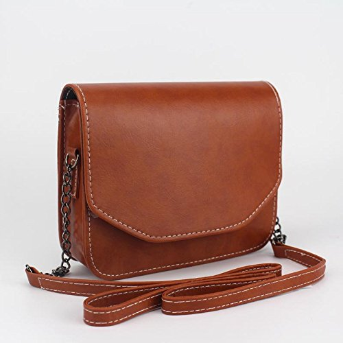 Lady Handbag Handbags Women Square Bag Bags Messenger Bag Hrph Mini Shoulder Retro Chain Marron Clutches Small qFRW8