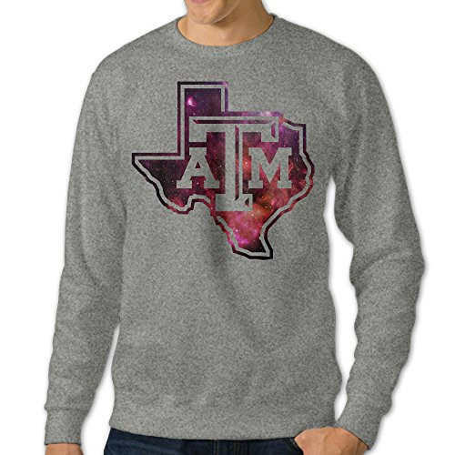 bestgifts-mens-texas-am-university-crewneck-hooded-sweatshirt-ash-size-m