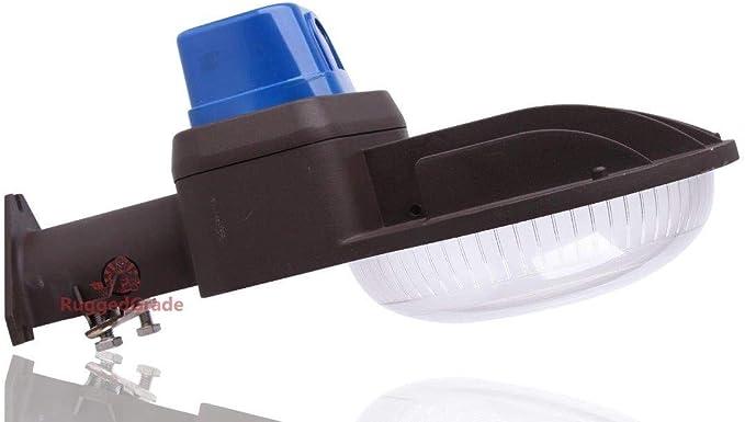 LED Barn Light 100 Watt-dusk to Dawn-5000k-wall Mounting-12,000lm 100W Dusk