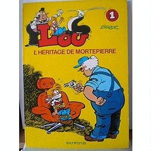 """Afficher """"Lou n° 1 L' Héritage de Mortepierre"""""""