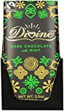 Divine Chocolate Bar, Mint Dark Chocolate, 3.5 Ounce (Pack of 10)