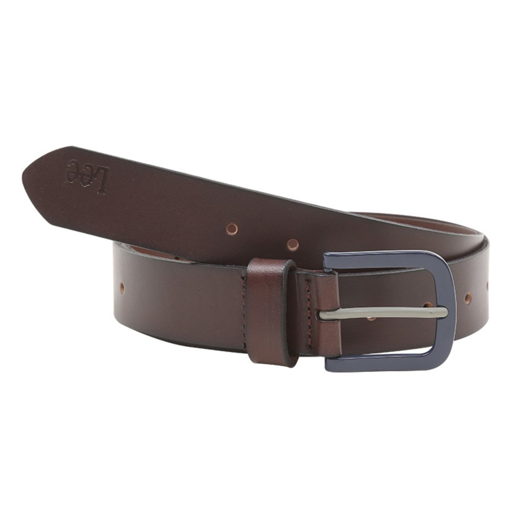 Men's Leather Ratchet Dress Belt With Automatic Buckle-A 115cm(45inch) by BUZHIDAO (Image #1)