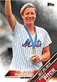 Abby Wambach trading card (USA Womens Soccer) 2016 Topps #FP1 New York Mets First Pitch