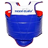 Competition Tae Kwon Do (TKD) Reversible Chest Guard - Red Blue & White