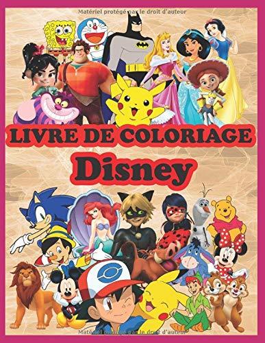 Livre De Coloriage Disney 50 Personnages De Dessin Anime De Meilleure Qualite A Colorier French Edition Coloriage Disney Livre 9798646333125 Amazon Com Books
