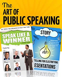 The Art of Public Speaking Bundle by [Karia, Akash]