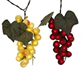 grape decorations set - Kurt Adler UL 100-Light Grape Cluster Light Set