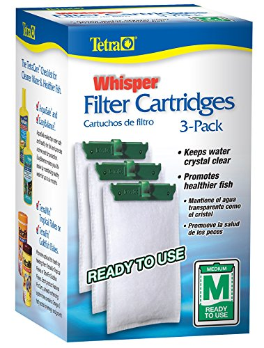 Tetra 26218 Medium 5-15 Carbon Filter Cartridges (2 Boxes of 3-Filters)