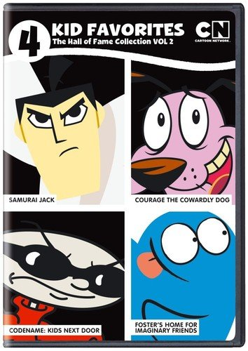 4 Kid Favorites Cartoon Network Hall of Fame Number 2 -