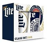 Cheap Miller Pub Glass (Set of 2), Clear