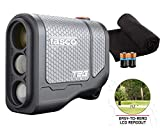Tasco T2G (Standard Version) Golf Laser Rangefinder PlayBetter Pack | 2019 Release | 5X Mag, 1 Yard Accuracy, Scan Mode, Case (+Microfiber Towel & Two CR2 Batteries)