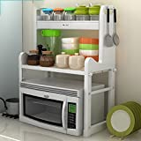 Hyun times Kitchen Shelves Microwave Shelves Floor Kitchenware Supplies Cups Storage Rack Rack Rack