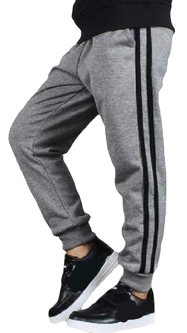Lutratocro Big Boys Jogger Elastic Waist Sport Casual Sweatpants Pants