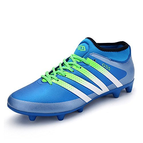 Spearss LightweightWomen's Performance Soccer Shoe Outdoor Athletic Football Cleats Blue7 B(M) US Convenient