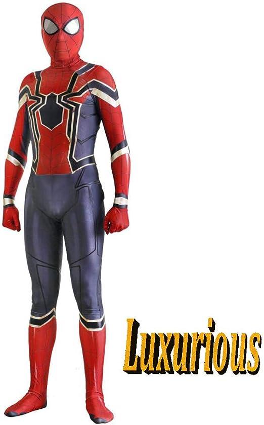 ERTSDFXA Iron Spiderman Disfraces Adulto Vengadores Disfraz De ...