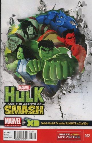 Marvel Universe Hulk Agents of Smash #2 (of 4) Comic Book 2013 - Marvel
