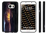 Rikki KnightTM Frederick Edwin Church Art After the Annealing Design Samsung® Galaxy Note 5 Case Cover (Black Rubber with front Bumper Protection) for Samsung Galaxy Note 5
