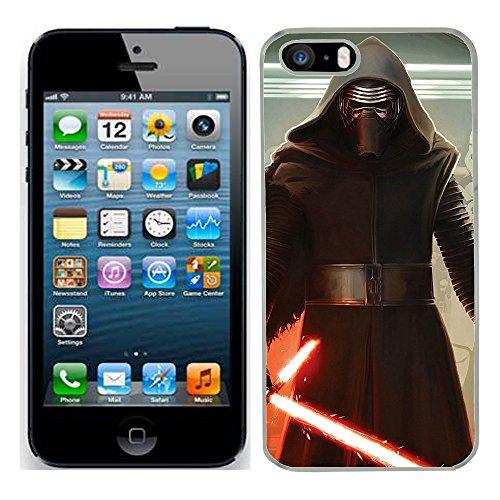 Star Wars Kylo REN Hartschalenhülle für iPhone 5S, Motiv Schutzhülle (7) für Apple i Handy 5S Force weckt Film