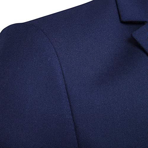 8f2cd6c28cd0 Sumen Mens Suit Slim Fit Blazer 3-Piece Suit Wedding Party Jacket Vest &  Pants