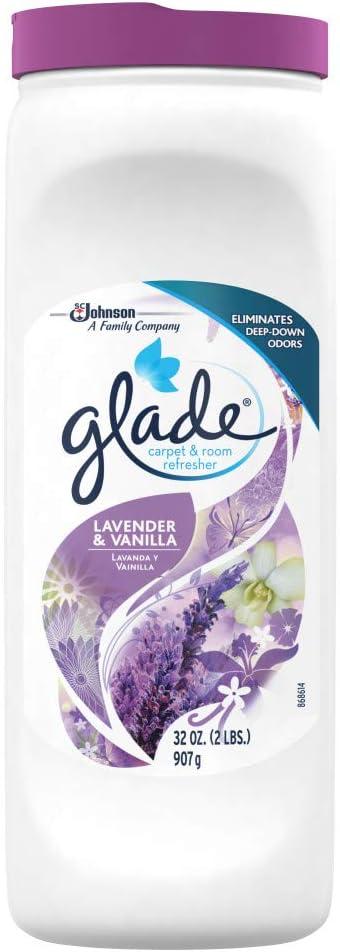 Glade Carpet & Room Refresher, Lavender & Vanilla, 32 oz