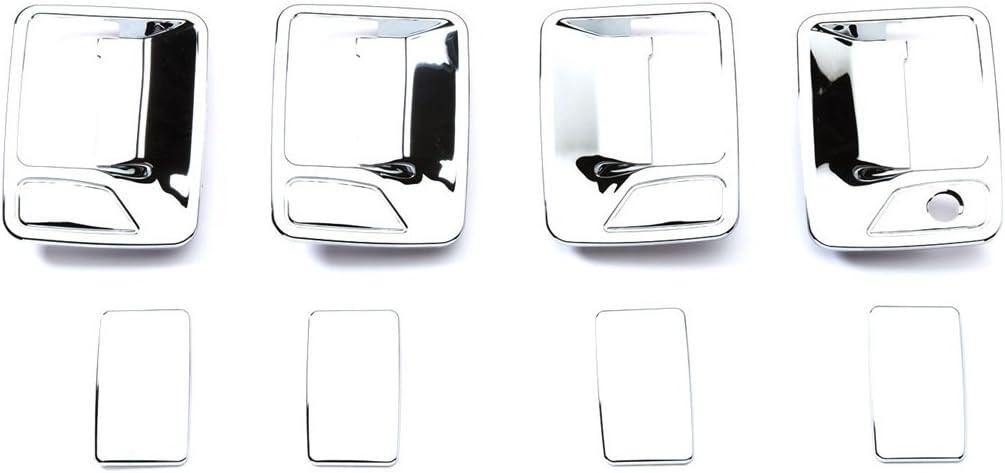 B000A37G1S Putco 401209 Chrome Trim Door Handle Covers without Passenger Keyhole for Super Duty (4 Door) 51D6d2BRsEOL