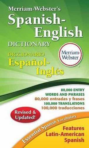 Merriam-Webster's Spanish-English Dictionary, New Copyright 2016 (Spanish Edition)