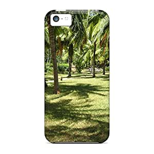 Pretty Qvw3276AHHY Iphone 5c Cases Covers/ Kenyan Palms Series High Quality Cases