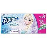 Ziploc Brand Snack Bags Featuring Disney Frozen Designs, 66 ct Review