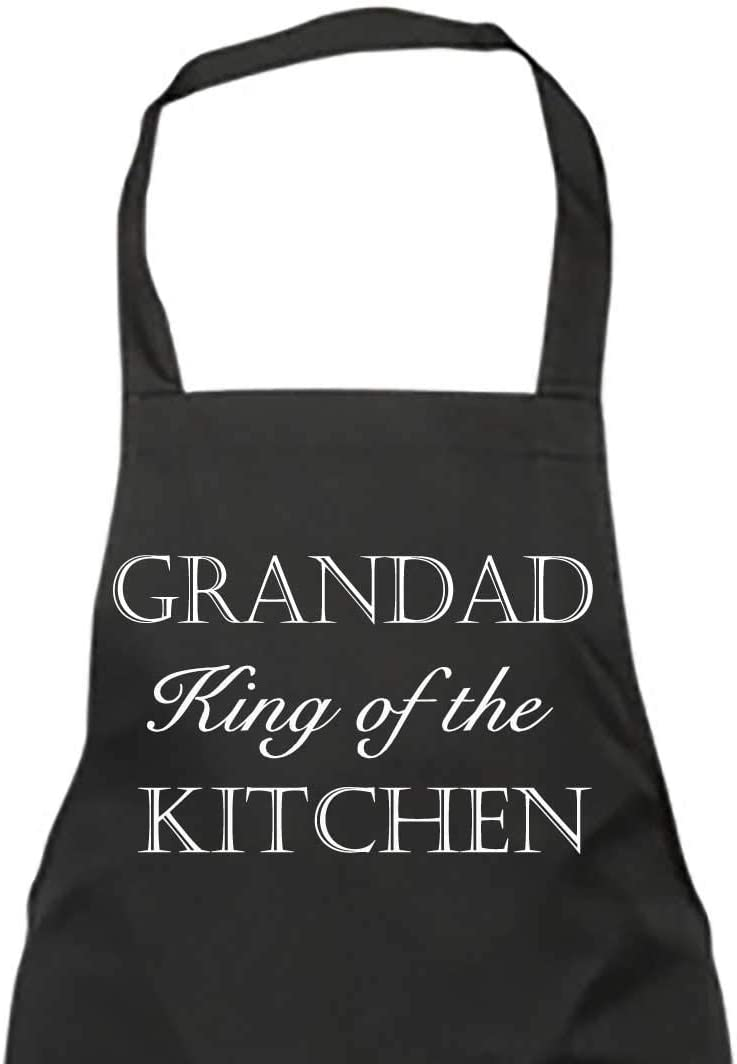 Abuelo Todos Los The Kitchen Negro Delantal Regalo Chef Cocina Regalo Día Del Padre