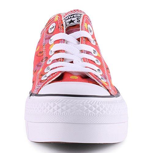 Converse All Star Platform Mujer Zapatillas Rosa