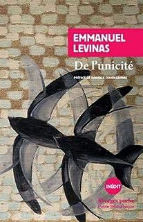 De l'unicité, Levinas, Emmanuel