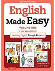 English Made Easy Volume One: A New ESL Approach: Learning English Through Pictures (Free Online Audio)