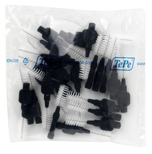 Price comparison product image TePe Interdental Brush Original - Black 1.5mm 25 Pack